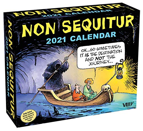 Compare Textbook Prices for Non Sequitur 2021 Day-to-Day Calendar  ISBN 9781524857448 by Miller, Wiley