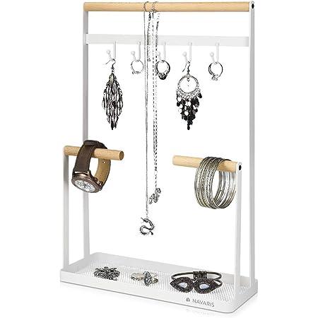 Basics Pr/ésentoir /à bijoux rotatif Nickel