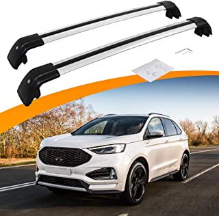SnailAuto Adjustable Cross Bars Roof Rack Luggage Carrier Fit for Ford Edge 2015 2016 2017 2018 2019 2020 2021
