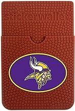 GameWear NFL Minnesota Vikings Sticker Wallet, Brown, N/A