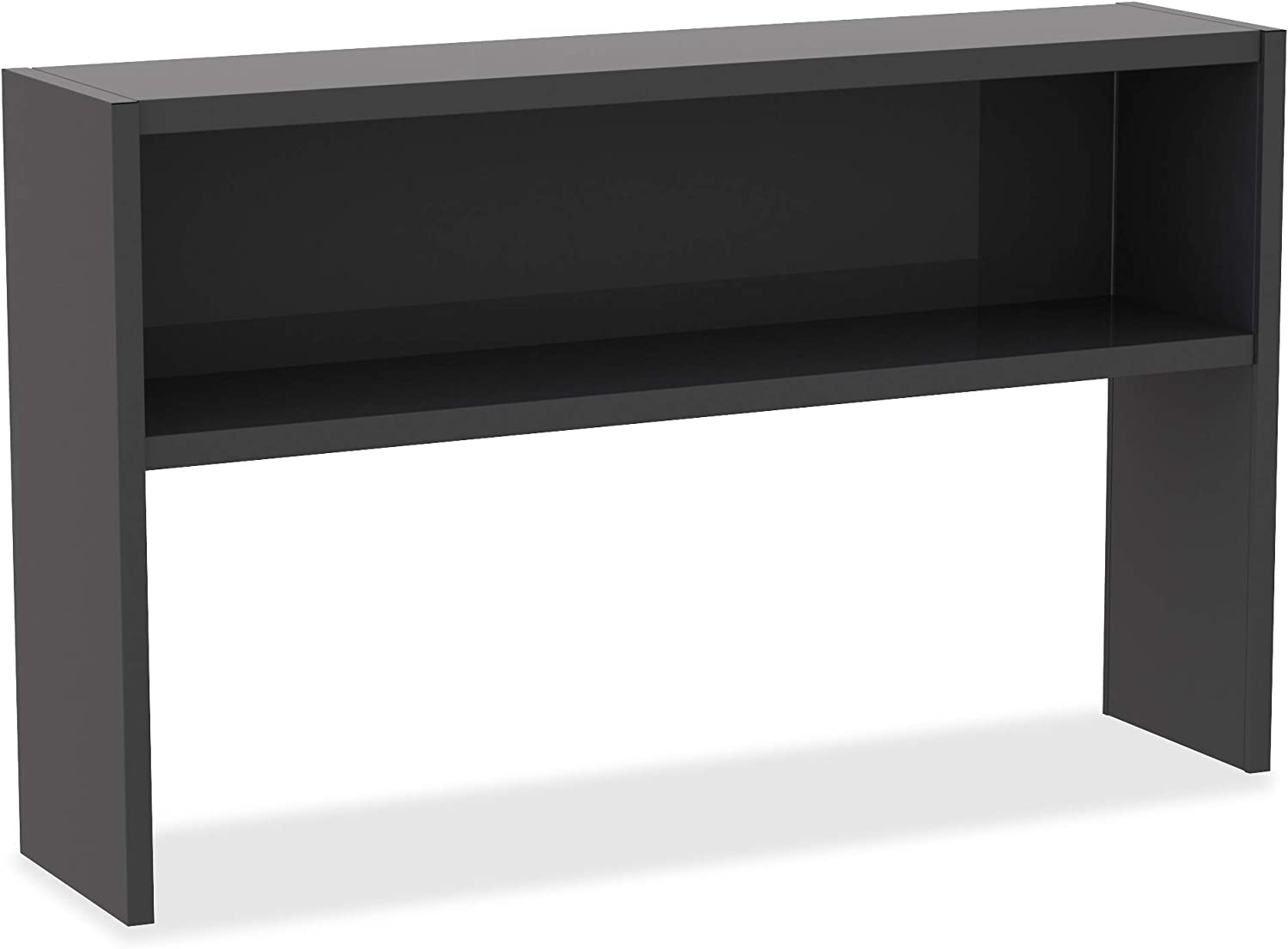 Lorell Charcoal Steel Desk favorite Japan's largest assortment Stack Hutch Series Gray