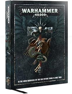 Games Workshop Warhammer 40,000 Rulebook Hardcover (2017 Edition)