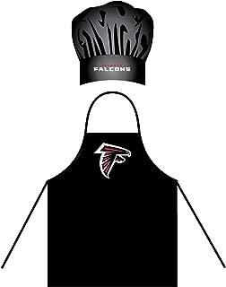 PSG INC Atlanta Falcons Men's Apron & Chef Hat Barbecue BBQ Cooking Grilling Football