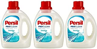 Persil ProClean Hypoallergenic Power-Liquid Sensitive Skin Laundry Detergent, 100 fl oz (Pack of 3)