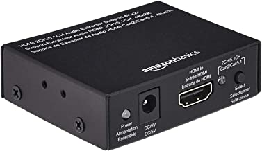 AmazonBasics 4K HDMI to HDMI and Audio (RCA Stereo or Spdif) Extractor Converter (Supports Apple TV, Fire TV and Blue-Ray Players)