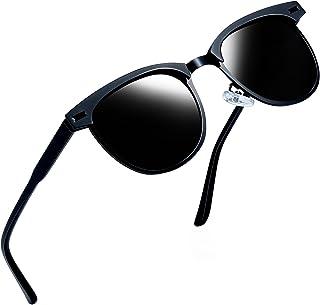 c01a7bd7322f Joopin Semi Rimless Polarized Sunglasses Women Men Retro Brand Sun Glasses