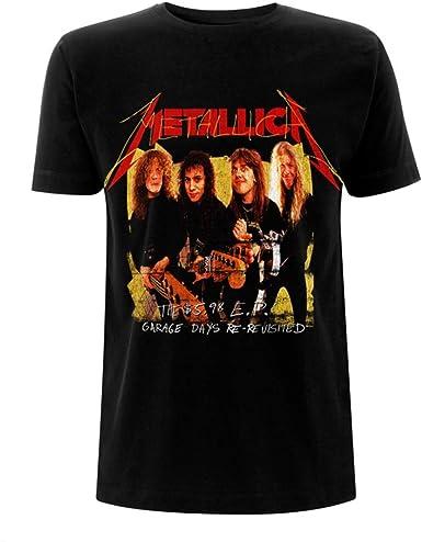 Metallica Garage Days James Hetfield Oficial Camiseta para Hombre