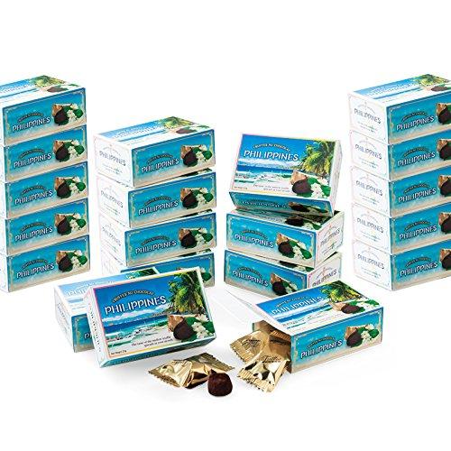 フィリピン 土産 フィリピン ミニチョコトリュフ 20箱セット (海外旅行 フィリピン お土産)