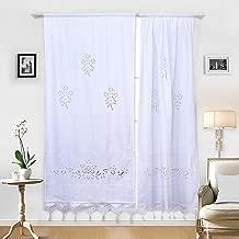 Amazon.es: cortinas cortas para ventanas