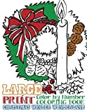 Large Print Adult Color by Number Coloring Book: Christmas Winter Wonderland: Beautiful and Festive Holiday Adult Coloring Activity Book for ... and Winter Lovers to Relieve Stress and Relax