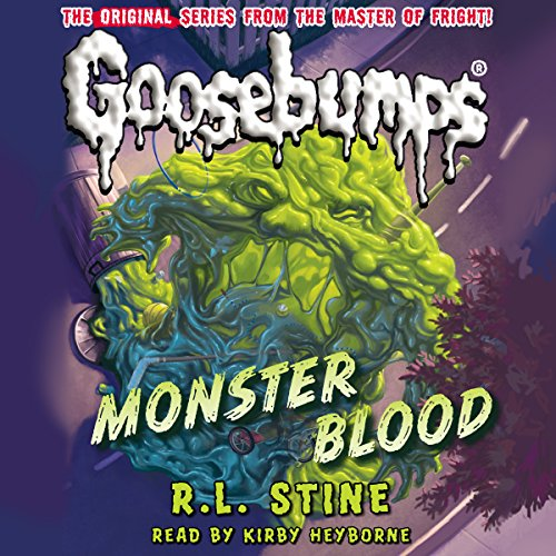 Classic Goosebumps: Monster Blood audiobook cover art