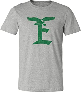 Philadelphia Football E T-Shirt Athletic Gray - Soft Style