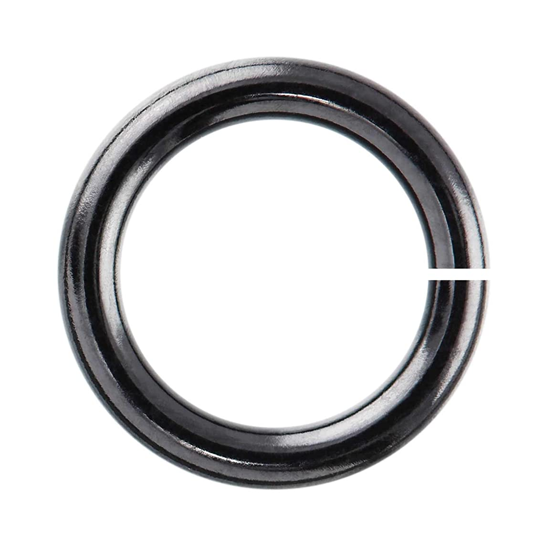 Weave Got Maille 18-Gauge 5mm Balck Enameled Copper Jump Rings - 1 Ounce