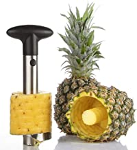 Noosa Life | Pineapple Cutter | Premium Pineapple Corer Peeler Slicer | Upgraded, Reinforced, Thicker Blade | Durable and Dishwasher Safe | Premium 304 Stainless Steel - Thick and Strong - Will Not Rust |Easy To Slice Fruit Rings Without a Knife