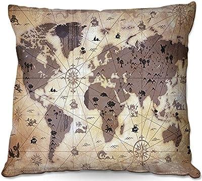 Amazon.com: Juego de 2 cojines decorativos baratos para sofá ...