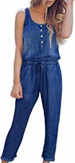 more photos a3714 e49af Amazon.it: Tuta Jeans - Donna: Abbigliamento