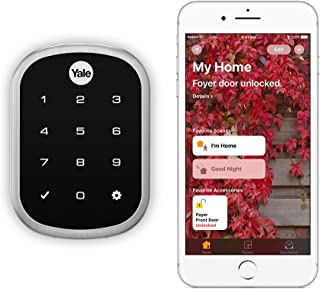 Yale Assure Lock SL - Key Free Smart Lock with Touchscreen Keypad - Works with Apple HomeKit and Siri (YRD256iM1619) in Sa...
