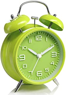 WMMCM Métal Ringing Super Alarme sonore Horloge Lazy Multifonctions Mignon Enfant Mute Petit réveil réveil de Chevet Horlo...