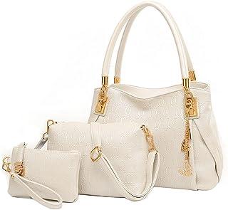 Chinatera Women Handbags Pu Leather Fashion Purse And Handbag Women Messenger Bags O Bag Handbag+Messenger Bag+Purse Set