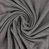 Jersey Viskosejersey Cloudy grau meliert 1,4m Breite