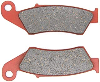 MEXITAL 1 pair Motorbike Front Ceramic Organic Brake Pads for Honda CRF 450 R/X (2002-2018)