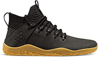 VIVOBAREFOOT Magna FG, Mens Leather And Wool Hiking Trainers With Barefoot Sole