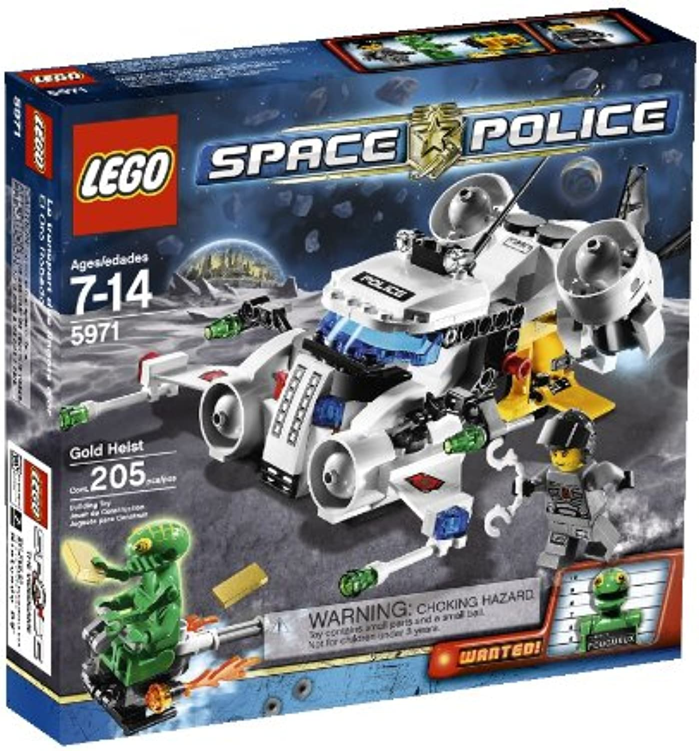 LEGO Space Police Gold Heist (5971) by LEGO