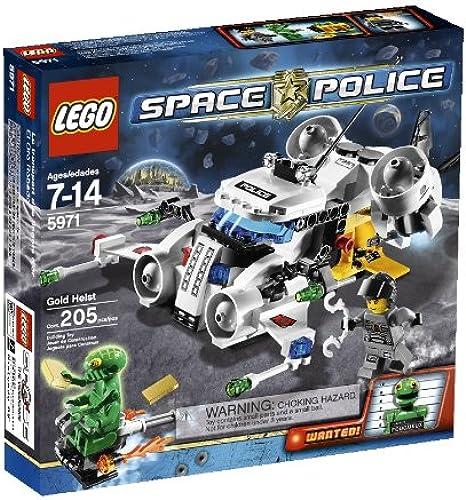 calidad de primera clase LEGO LEGO LEGO Space Police oro Heist (5971)  primera reputación de los clientes primero