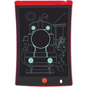 Dygzh LCD Tablet 3 Children Home Tablet LCD Drawing Board Graffiti Board Drawing Board Children The Best Gift LCD Writing Board Color : Blue, Size : 10.5 inches