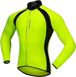 Baosity Quick Dry Cycling Jersey Long Sleeve Sports Bike Jacket Winter Bicycle Shirt