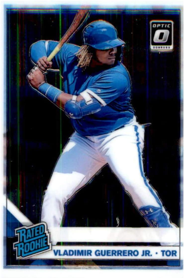 2019 Donruss Optic #64 Vladimir sale Guerrero Jr. Rated Toront Recommended Rookie