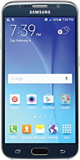 Samsung Galaxy S6 SM-G920A 32GB Sapphire Black Smartphone for AT&T (Renewed)