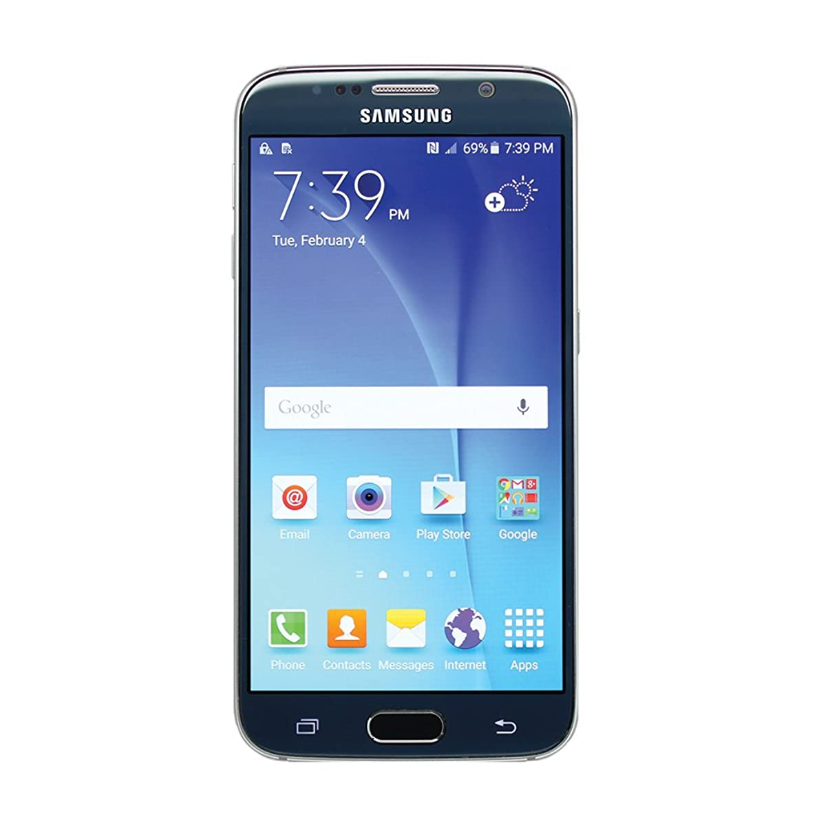 Samsung Galaxy S6 SM-G920T 64GB Sapphire Black Smartphone for T-Mobile (Renewed)