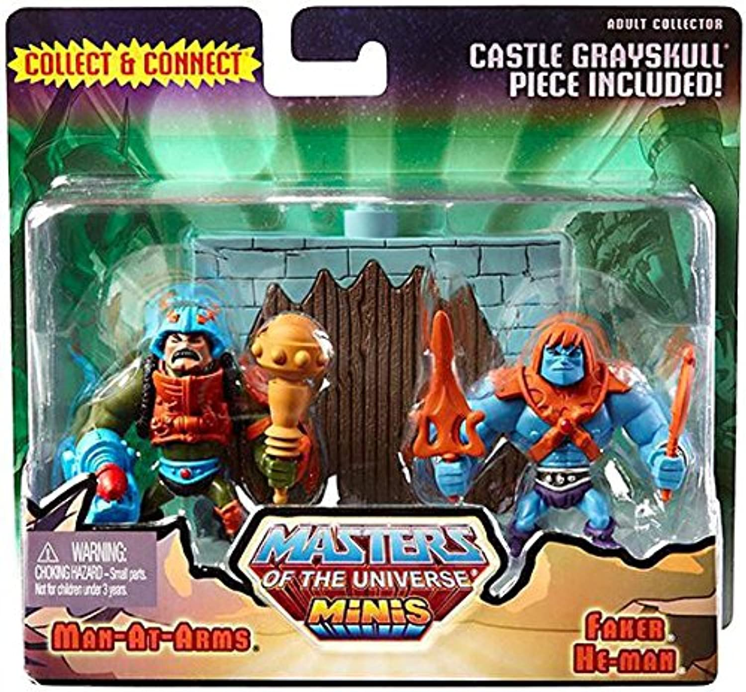 Masters of the Universe Minis Faker & Man-At-Arms Exclusive Mini Figure 2-Pack by He-Man Masters of the Universe Minis
