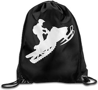 Bolsa de viaje de cuerda de tirar, bolsa de deportes Ness bolsa de nieve con cordón mochila de haz de boca, deportes, bolsa de hombro para hombres y mujeres bolsa de gimnasio