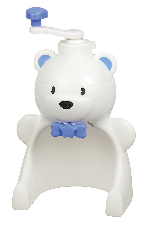 無効にする怒り不満パール金属 日本製 手動 かき氷器 しろくまくん 新型 製氷 カップ 2個付 ホワイト D-1327