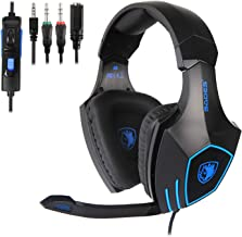Best Xbox Headset, Stereo Surround Sound Gaming Headset with Mic for Xbox One, PS4, PS5, 3.5mm Noise Canceling Wired Over Ear Headphones with Revolution Volume Control for PC, MAC, Nintendo Switch Review