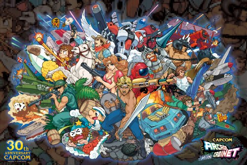 Capcom arcade cabinet Retro Game Collection 1000 Piece Forever 8bit 1000-352 (japan import)