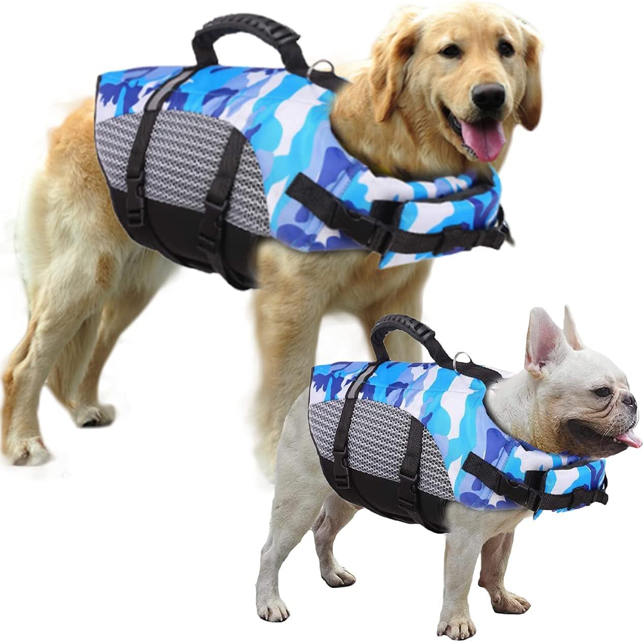 Huret Reflective Dog Denver Mall Life Jackets Pet Ripstop High quality new Vest Safety
