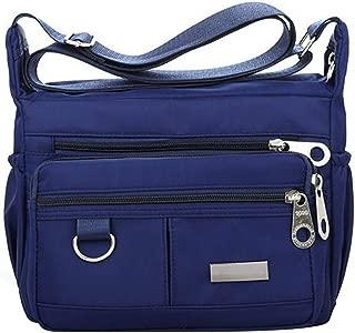 Shoulder Bags for Women Nylon Handbag Zipper Purses Messenger