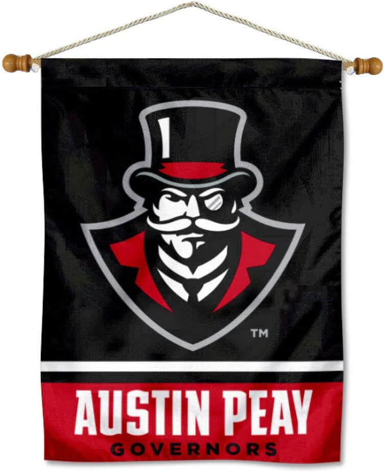 Free Shipping New Nippon regular agency Austin Peay Governors Banner Hanging Pole with