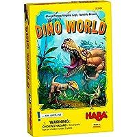 HABA Dino World Game - エキサイティングな先史時代の狩猟 対象年齢6歳以上 (ドイツ製)