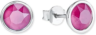 s.Oliver Pendientes de botón Mujer plata - 2020880