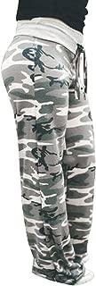 Women Yoga Pants Fashion Print Floral Trousers Ladies Autumn Leggings Wide Legs