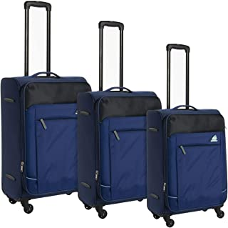 كاميلينت حقائب سفر بعجلات 3 قطع , ازرق , FB901004-BLUE