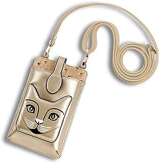 Sawekin Damen Handy Schultertasche Handytasche Mini Umhängetasche Handy Geldbeutel Geldbörse Messenger Tasche Mädchen