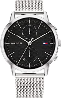 Tommy Hilfiger Men's Analogue Quartz Watch with Stainless Steel Strap 1710433