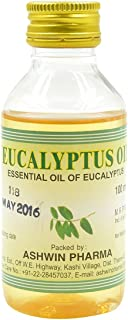 Ashwin, Eucalyptus Oil, 100 Milliliter(mL)