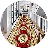 Extralange Flur Runner Teppich Mit Blumenmuster Nicht Beleg Küche Entryway Halle Runners Stain Resistant Teppich (Farbe: A, Größe: 1.6x1m), Größe: 0.8x5m, Farbe: A rug ( Color : A , Size : 1.2x1m )