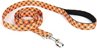 Mighty Paw Halloween Dog Leash, Special Festive Printed Pattern, Neoprene Padded Handle with Durable Polyester Webbing.
